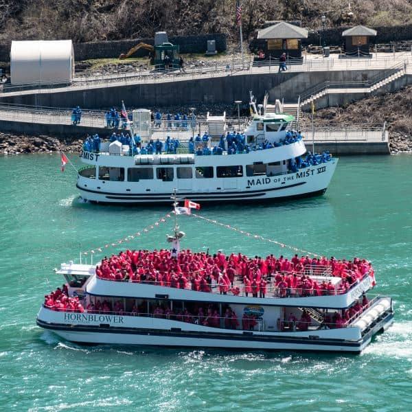 bateaux chutes du Niagara visiter photo Canada Etats Unis | Blog Vincent Voyage