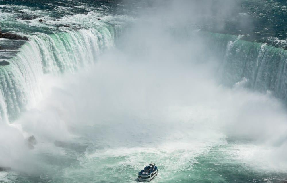 bateau chutes du niagara maid of the mist Canada | Blog Vincent Voyage