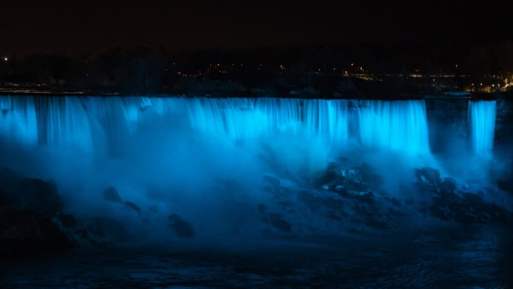 visiter chutes du niagara photo Canada american falls Etats Unis | Blog Vincent Voyage