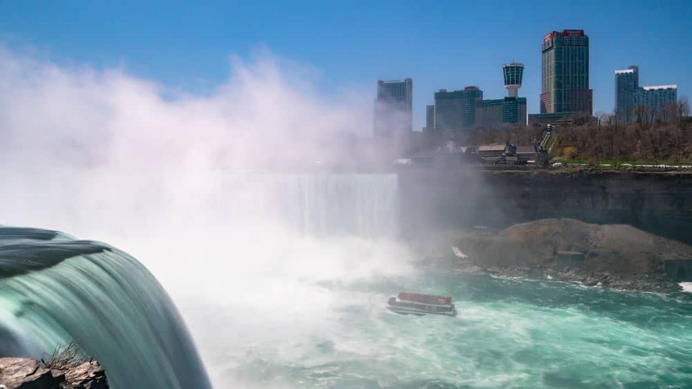visiter chutes du niagara photo Canada côté Etats Unis | Blog Vincent Voyage