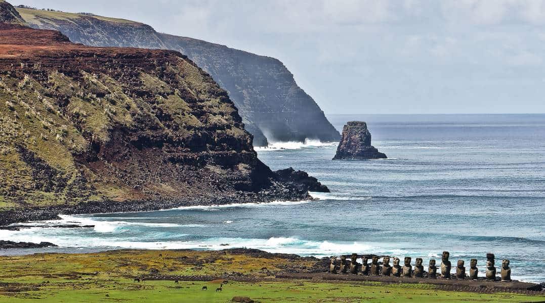 ahu tongariki poike moaï ile de paques isla de pascua Chili | Blog Vincent Voyage