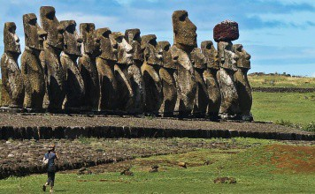 ahu tongariki moaï ile de paques isla de pascua Chili | Blog Vincent Voyage
