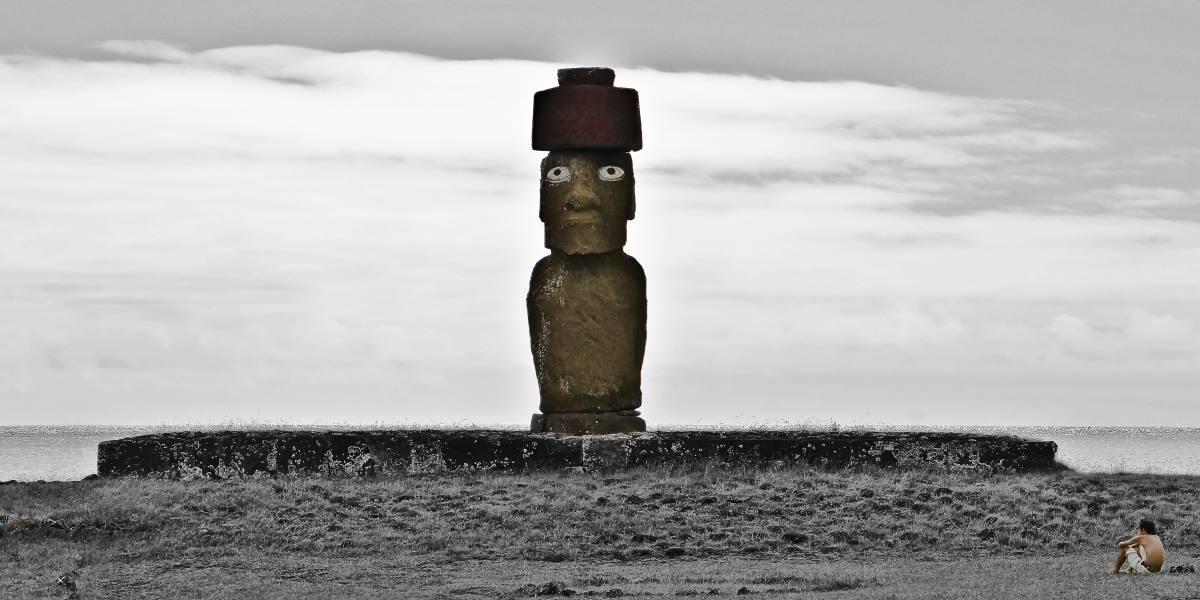 moaï ile de paques isla de pascua Chili | Blog Vincent Voyage