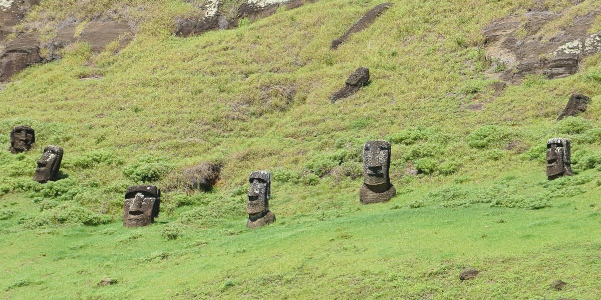 tailleur moai ile de paques