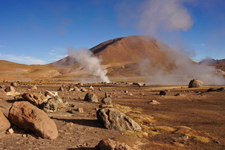 geysers el tatio salar Desert d'Atacama au Chili | Blog Vincent Voyage