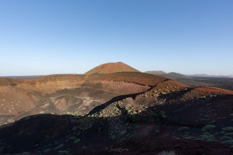 Volcans Los bardou à Lanzarote iles Canaries