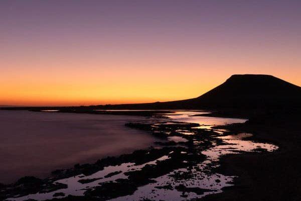 coucher de soleil la graciosa canaries blog vincent voyage