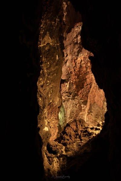 Grotte Cueva de los verdes à Lanzarote Iles Canaries