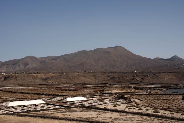 Salinas de Janubio Lanzarote aux ILes Canaries