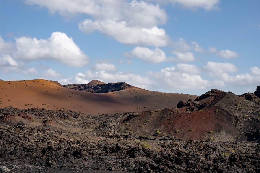 Paysages de Lanzarote aux Iles Canaries