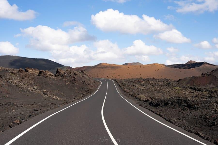 Route Timanfaya Lanzarote Iles Canaries