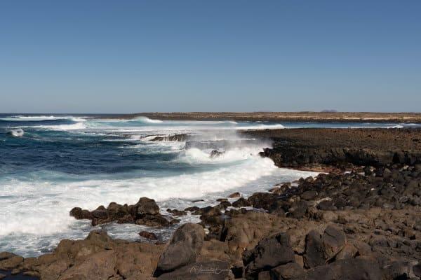 paysages de mer Lanzarote aux Iles Canaries