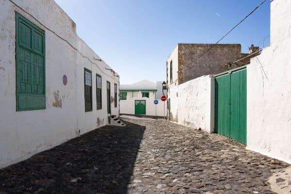 Les rues de Teguise à Lanzarote
