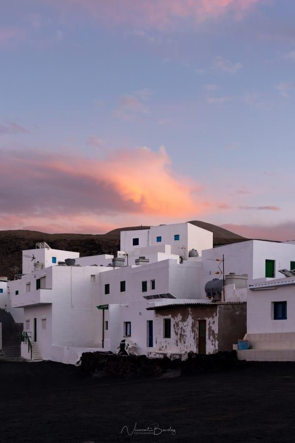 Village de Tenesar à Lanzarote en Espagne