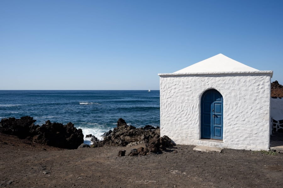 El Golfo à Lanzarote dans les iles Canaries