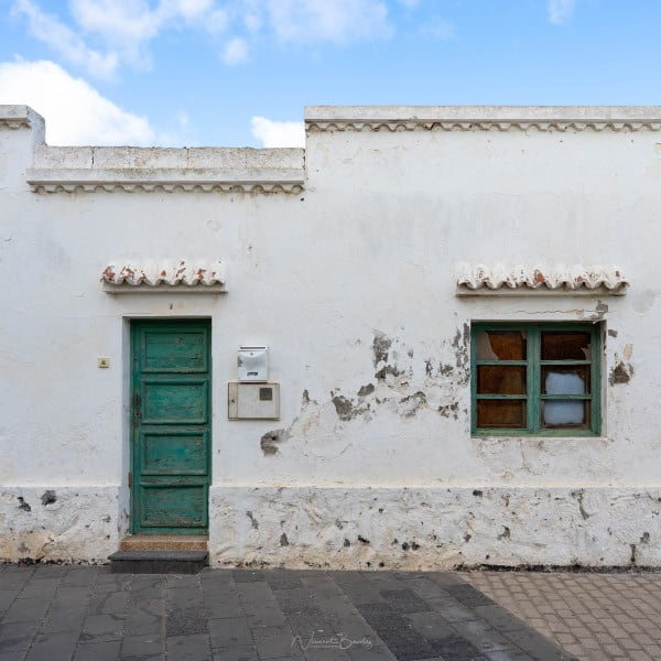 Architecture village Lanzarote iles Canaries