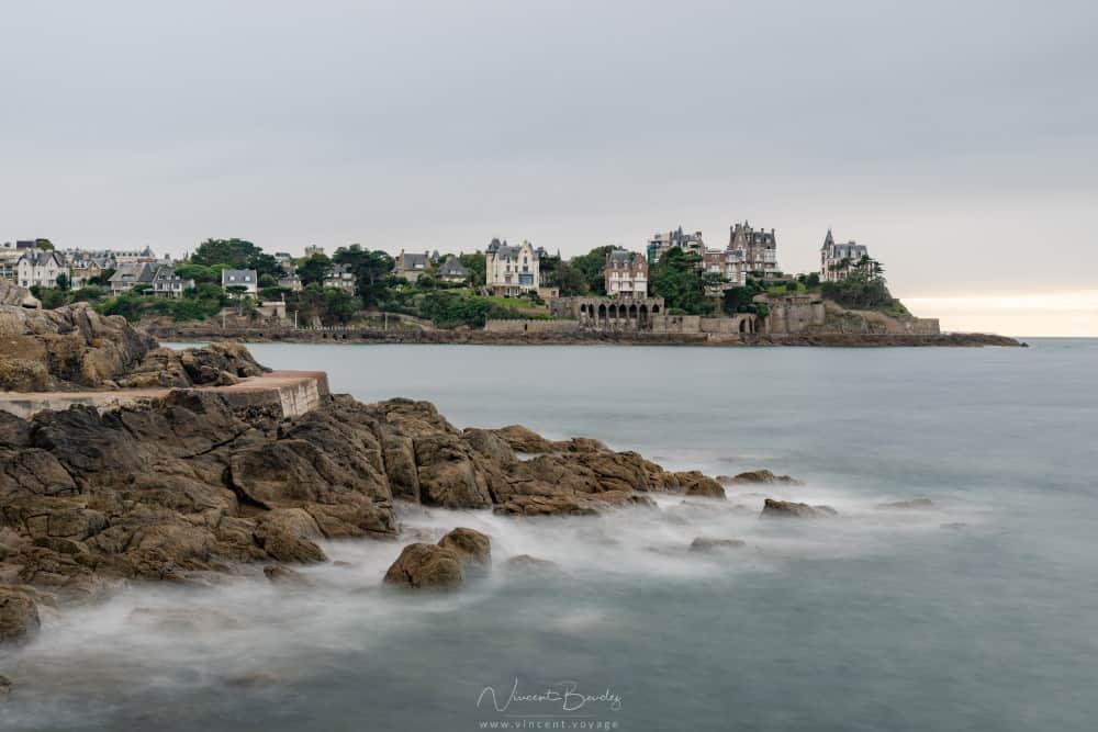 Vue sur Dinard en Bretagne
