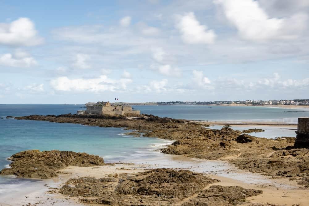 Le fort national à Saint Malo
