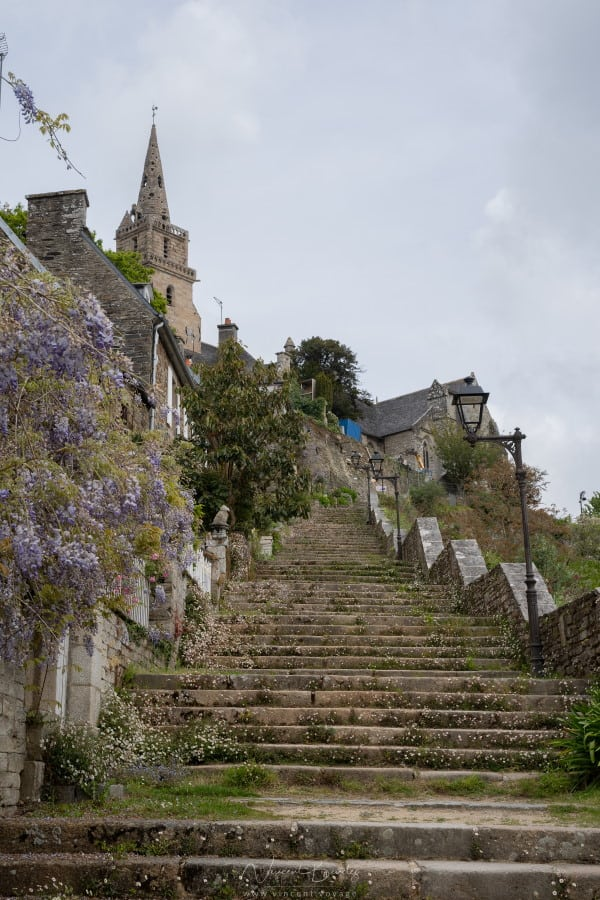 Escalier de Brelevenez Lannion