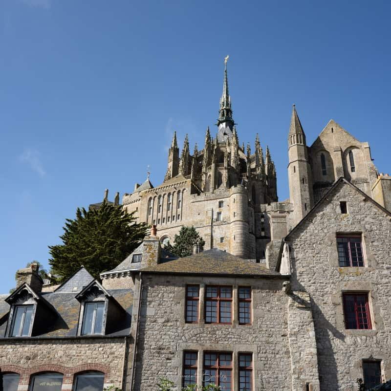 Le village du Mont Saint Michel