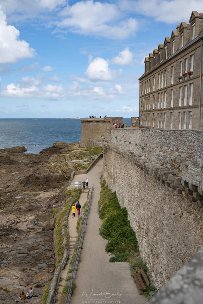Remparts de la ville de Saint Malo