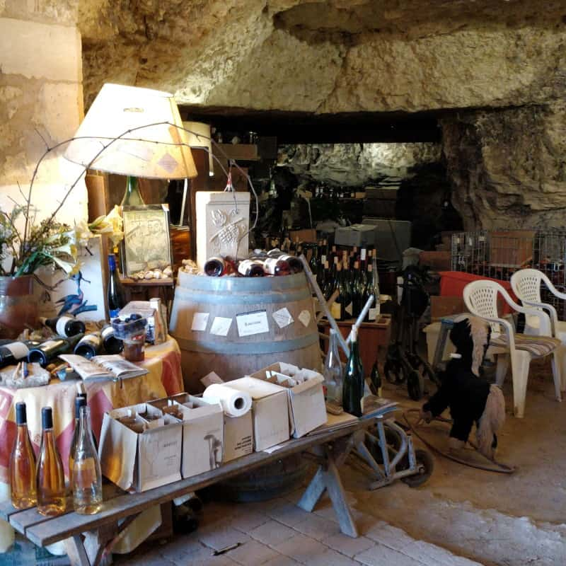 Cave troglodyte à Amboise