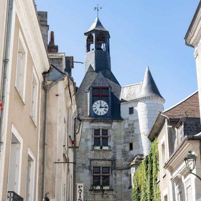 tour de l'horloge à Amboise