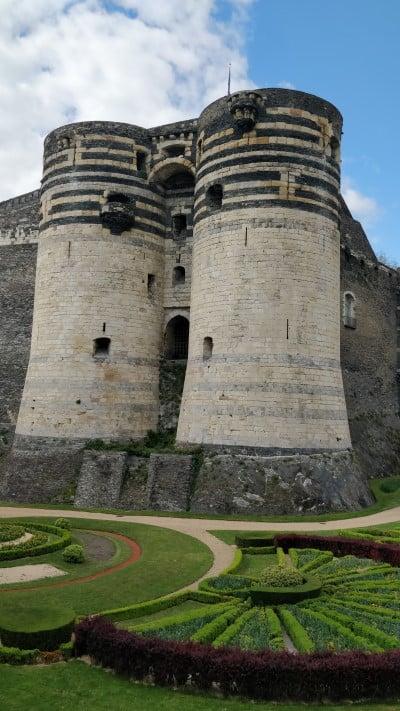 Chateau d'Angers val de Loire