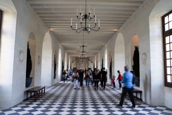 Grande galerie du château de Chenonceau
