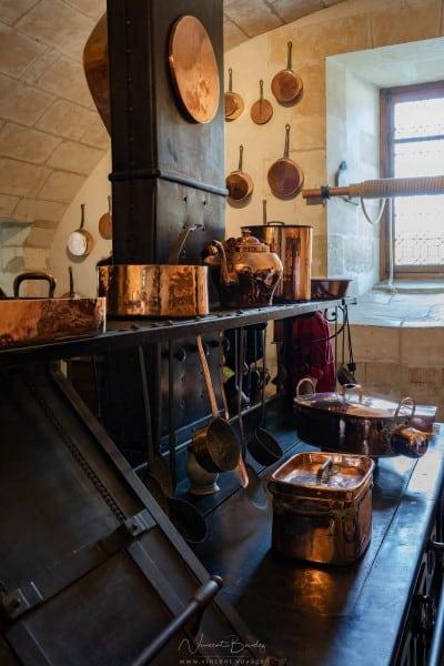 Les cuisines du château de chenonceau