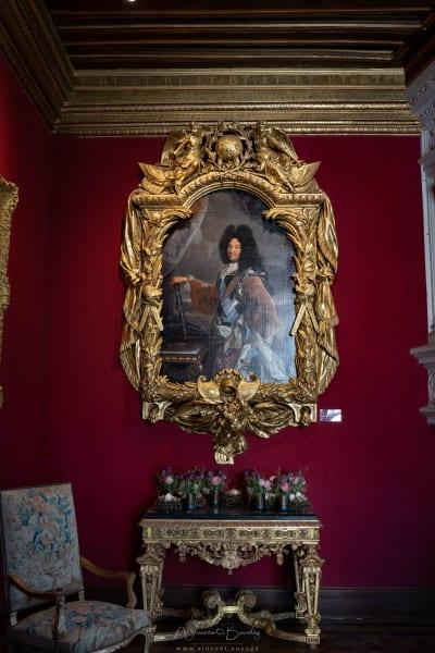 Tableau roi louis XIV château chenonceau