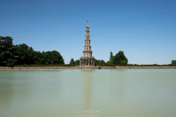 Pagode de Chanteloup dans la vallée de la Loire