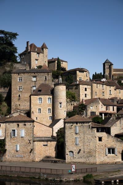 village Puy l'évêque dans le Lot