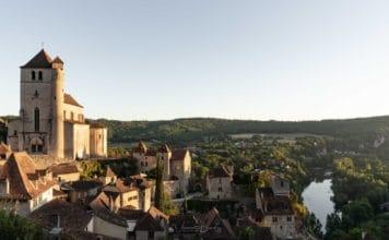 saint cirq lapopie lever de soleil occitanie lot vincent voyage