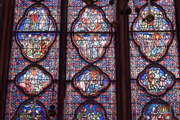 Vitraux de la Sainte Chapelle de Paris