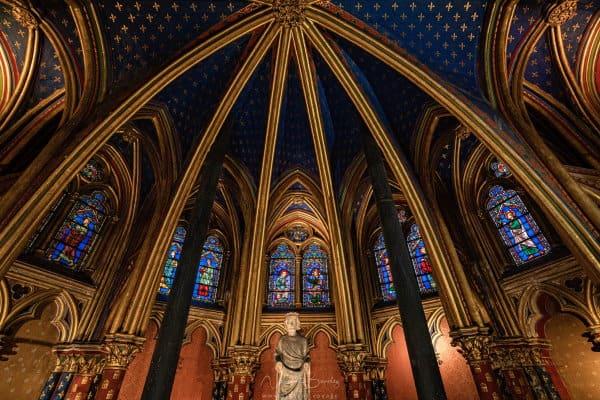 Chapelle basse de la Sainte Chapelle de Paris