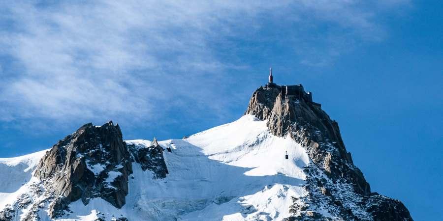 aiguille du midi mont blanc chamonix | Blog vincent voyage
