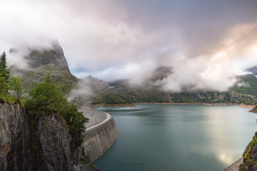 barrage emosson Suisse chamonix | Blog Vincent Voyage