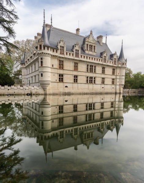 Azay le rideau chateaux de la Loire photo | Blog Vincent Voyage