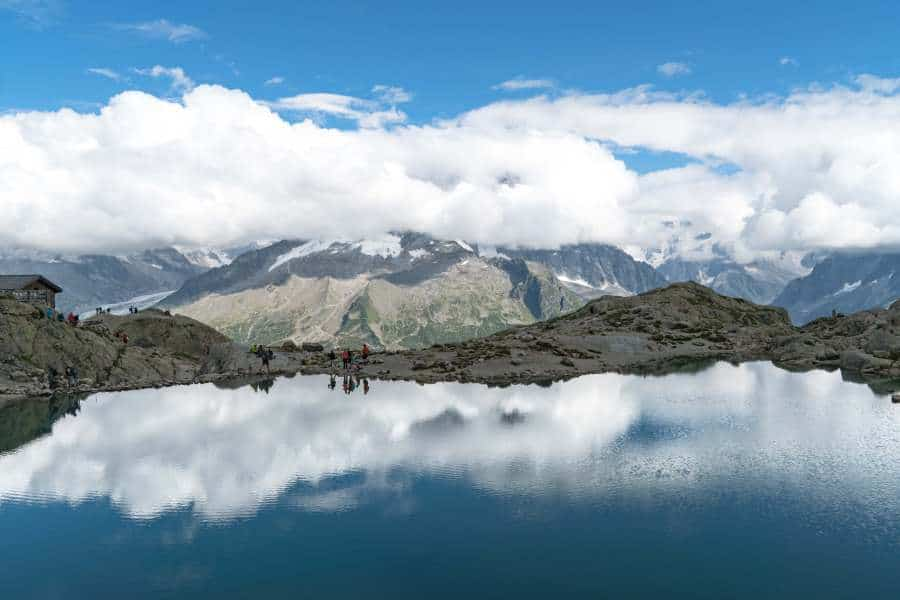 lac blanc vallée de chamonix mont blanc | Blog vincent voyage