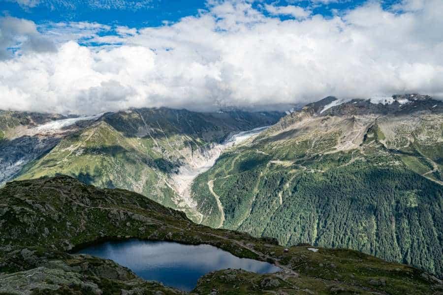 lac des cheserys chamonix mont blanc | Blog Vincent Voyage