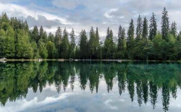 lac vert chamonix alpes blog vincent voyage
