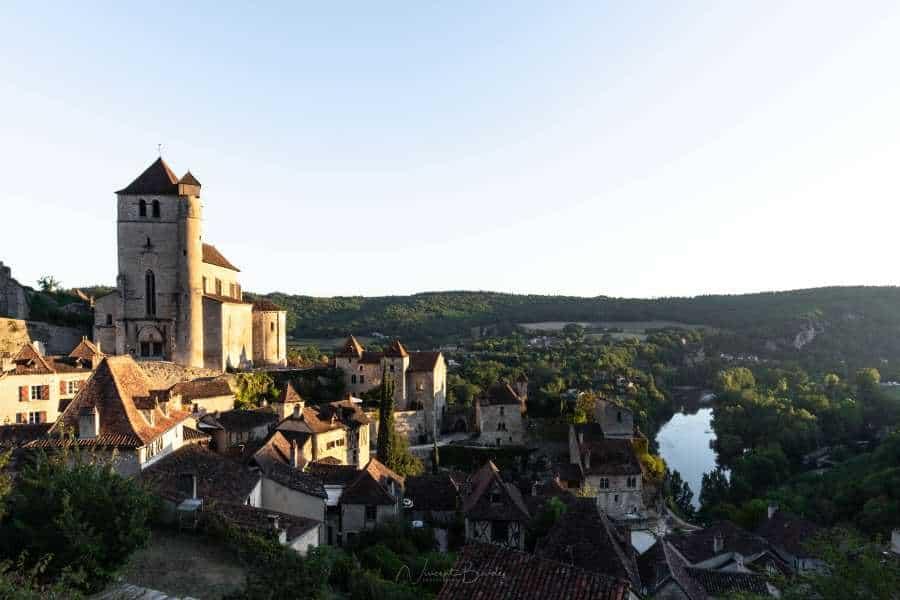 saint cirq lapopie lever de soleil Lot | Blog Vincent Voyage