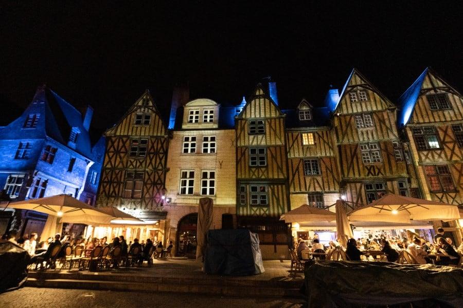 Tours la nuit chateaux de la Loire photo | Blog Vincent Voyage