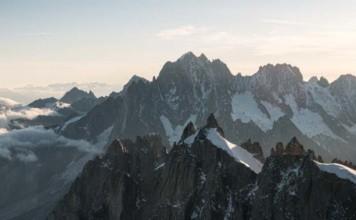 Vue alpes depuis aiguille du midi | Blog Vincent Voyage