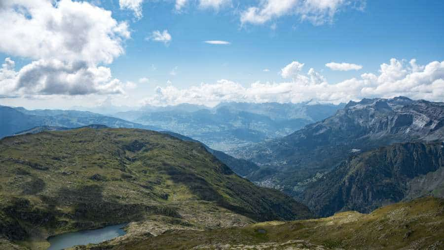 vue vallée chamonix Brevent | Blog Vincent Voyage