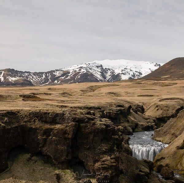 randonnée cascade Skogafoss en Islande