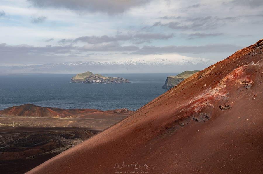 Volcan Heimaey iles vestmann en Islande