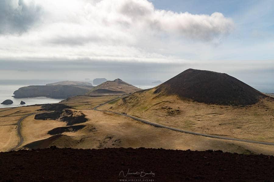 iles vestmann heimaey en Islande