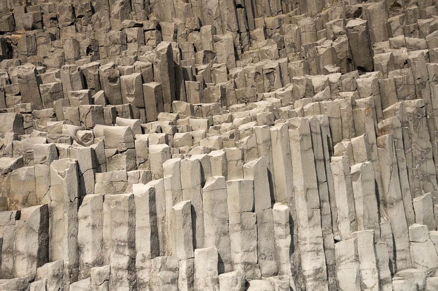Orgues basaltiques plage de Vik Reynisfjara en Islande